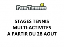 STAGE SEMAINE DU 28 AOUT 2017
